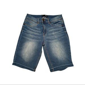 1822 denim jean shorts size 12